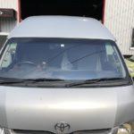 トヨタ ハイエース|ガラス交換コートテクト|福岡県